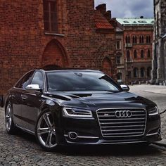 2015 Black Audi S8 520hp V8 4.0 Twin Turbo