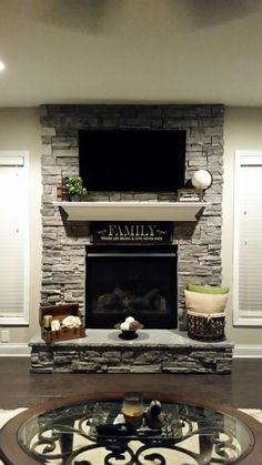 3 Satisfied Cool Tips: Livingroom Remodel Fireplace Update livingroom remodel fixer upper.Livingroom Remodel How To Build small living room remodel organization ideas. Fireplace Update, Home Fireplace, Fireplace Remodel, Fireplace Design, Tv Over Fireplace, Fireplace Ideas, Mantel Ideas, Living Room Remodel, Home Living Room