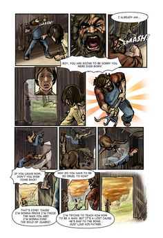 Call of Juarez comic book -Billy's story, p. 4