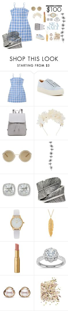 """Sea Salt"" by stardustlliy ❤ liked on Polyvore featuring Marc Fisher LTD, Lizzie Fortunato, Dolce&Gabbana, Frederic Sage, Decree, Vivani, Anne Sisteron, Too Faced Cosmetics, Zac Posen and Trilogy"