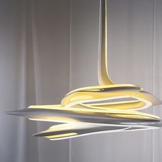 Endless light . Vortex lamp by Zaha Hadid   @d.signers by hexliving