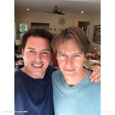 Congrats #Ireland on passing marriage #Equality we are celebrating with u. John Barrowman MBE & Husband Scott Gill