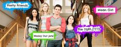 Casey, Jessica, Wesley, Bianca et Madison The Duff Movie, Love Movie, I Movie, Blue Merle, The Duff Quotes, Fat Friend, Lab, High School Life, Boring Life