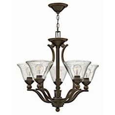 Buy the Hinkley Lighting Olde Bronze / Clear Direct. Shop for the Hinkley Lighting Olde Bronze / Clear 5 Light 1 Tier Mini Chandelier from the Bolla Collection and save. 5 Light Chandelier, Chandelier Shades, Bronze Chandelier, Lighting Showroom, Foyer Lighting, Kitchen Lighting, Hinkley Lighting, Island Lighting, Glass Shades