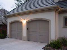 Carriage Garage Doors No Windows method for applying wood veneer to metal garage doors | our house