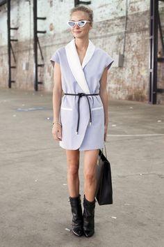 Pin for Later: Envie de Revamper Votre Garde Robe? Ces Photos Street Style Vont Vous Donner des Idées!