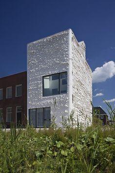 CC-Studio, Fabric Facade, Studio House, Almere, Flevoland.