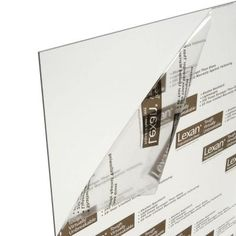 LEXAN 48 in. x 96 in. x 0.118 in. Clear Polycarbonate Sheet-GE-100 - The Home Depot to protect the skylights from branches and weather.