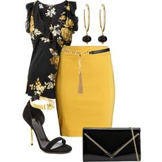 A fashion look from September 2014 featuring Roberto Cavalli blouses, H&M skirts and Versace sandals. Browse and shop related looks.