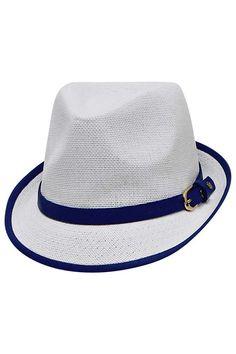 fe487233bb230 Luxury Divas - Fashion Accessories for Men   Women. White Fedora HatWide ...