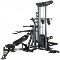 The innovative system combines five fundamental training devices to form a compact, top-class workout station. For more information about this product and its price and availability, please visit our website to find and contact your ATX® dealer. Multi Gym, Leg Curl, Strength Training Equipment, No Equipment Workout, Fitness Equipment, Biceps, Squat Machine, Workout Stations, Fitness Gear