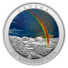 2016 1 oz Proof Canadian Silver Radiant Rainbow Coins from JM Bullion™ Vintage Slot Machines, Canadian Coins, Foreign Coins, Mo Money, Show Me The Money, Proof Coins, Old Coins, Money Matters, Coin Collecting