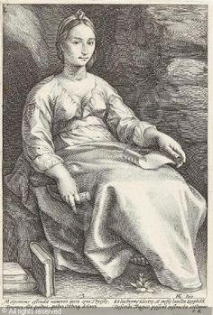 °Melpomene (from The Nine Muses) - Hendrick Goltzius - 1592 - @LauChans Art