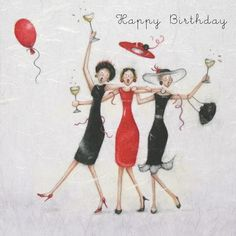 Cards » Happy Birthday » Happy Birthday - Berni Parker Designs