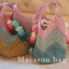 "New Cheap Bags. The location where building and construction meets style, beaded crochet is the act of using beads to decorate crocheted products. ""Crochet"" is derived fro Filet Crochet, Bag Crochet, Crochet Market Bag, Crochet Shell Stitch, Crochet Handbags, Crochet Purses, Crochet Socks, Love Crochet, Crochet Crafts"