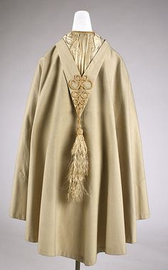 Cape  Date: 1860s Culture: American Medium: wool, silk