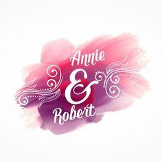 Piękne różowe farby efekt skoku ze szczegółami zaproszenia ślubne