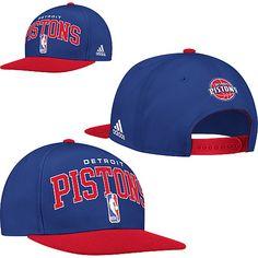 Adidas Detroit Pistons 2012 NBA Snapback Draft Cap!