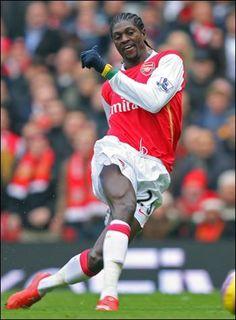 ~ Emmanual Adebayor on Arsenal FC ~
