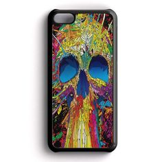 Colorful Skull iPhone 5C Case