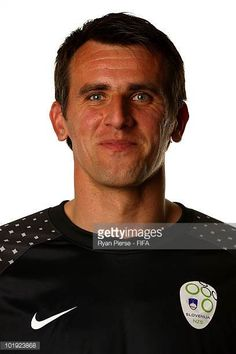 Jasmin Handanovic of Slovenia poses poses during the official FIFA World Cup 2010 portrait session on June 9 2010 in Johannesburg South Africa