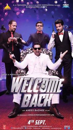 Topic: Welcome Back Torrent – Welcome Back 2015 Full Movie Torrent Download – Hindi | Trending On India