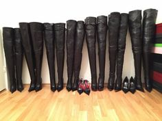 Black High Boots, Leather High Heel Boots, Thigh High Boots Heels, Long Boots, Heeled Boots, Knee Boots, Pantyhose Outfits, Pantyhose Heels, Celebrity Boots