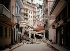 Ο μεγάλος σεισμός της Θεσσαλονίκης Greece History, Thessaloniki, Macedonia, Nymph, The Past, Uber, Ghosts, Vintage, Historia