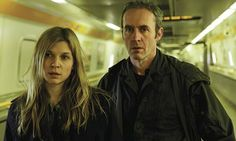 "The gorgeous Clémence Poésy and Stephen Dillane in the amazing series ""The Tunnel"" (lets make and exception I know its a TV show)"