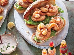 Learn how to make Barbecue Shrimp Po' Boys with Fried Green Tomatoes . MyRecipes has 70,000+ tested recipes and videos to help you be a...