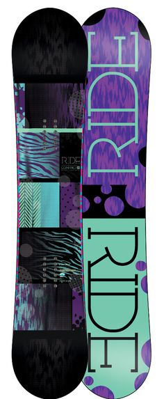 Ride Compact Snowboard 143 - Women's