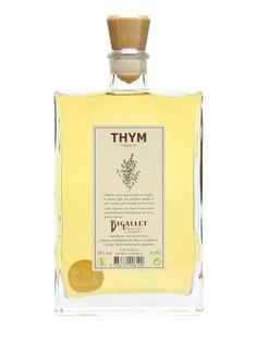 Bigallet Thym Liqueur : Buy Online - The Whisky Exchange - A traditional French thyme liqueur from Bigallet, founded in 1872, made using distilled thyme spirit and then further infused with thyme. It tastes quite a lot of thyme...