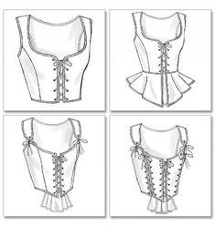 Patron de corsets