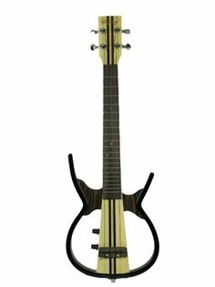 Sojing Ukll-ax2 Concert Silent Electric Ukulele by Delfy Music Inc.. $135.00. This patented concert silent electric ukulele gives you the opportunity to play and enjoy yourself in a noisy environment or to practice without disturbing others.  It is also ideal for stage performance when connected to an external amplifier with the cable included.  It has great tone and sound.