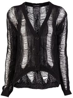 Ladder cardigan. Love this, but I would have to wash it very carefully!
