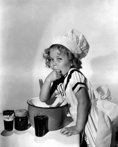 Shirley Temple. So cute!