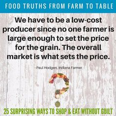 Who sets the price on corn and beans? The market not the #farmer. Like all businesses farmers do everything they can to be as profitable as possible without compromising the #environment. #agchat #corn #farming #soybeans #smallbusiness #environment