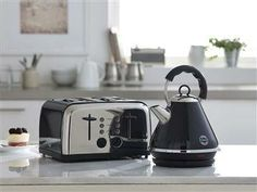 Next 4 Slot Toaster and pyramid kettle