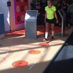 Come to #elevate2016 at Olympia convention center #london and see things like this #health #fitness #inactivity #pavigym #gym #sports #flooring #prama #interactive #platform #software #gymnastics #basketball #skills #programme #innovation #innovative #tec