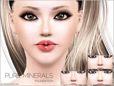 Pralinesims' Pure Minerals Foundation