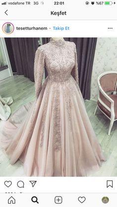 Hijab Prom Dress, Muslimah Wedding Dress, Hijab Evening Dress, Long Sleeve Evening Dresses, Prom Dresses Long With Sleeves, Pakistani Wedding Dresses, Best Wedding Dresses, Bridal Dresses, Hijabi Gowns