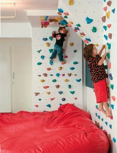 Sure the picture shows kids but I don't see any reason I can't make a bed like this for myself
