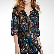 Penny's tunic, by Nicole Miller, $35