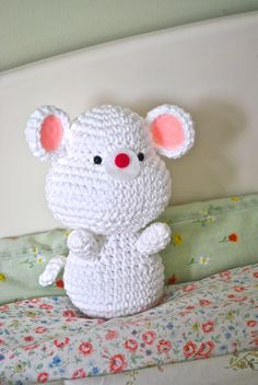 Baby Mouse By Amy's Gurumis - Free Crochet Pattern - (ravelry)