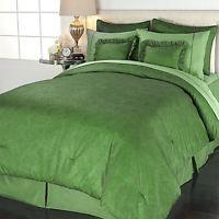 Comfort & JOY® Dream Bedding 8-piece Luxury Set -Queen -Meadow Green  2M15H