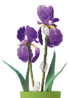 Irises Bead