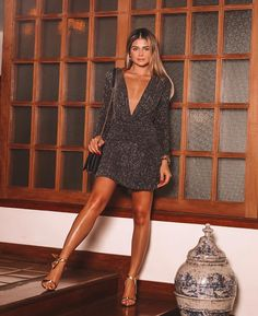 Trendy holiday outfits new years bling Sexy Party Dress, Sexy Dresses, Short Dresses, Dress Up, Holiday Party Outfit, Holiday Dresses, Holiday Outfits, Night Outfits, Boho Outfits