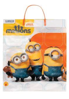 This Minions Trick-or-Treat Bag features three Minions on both sides. This Minion bag goes great with your little one's Minion costume! Minion Candy, Minion Bag, Halloween Trick Or Treat, Halloween Kids, Happy Halloween, Plastic Gift Bags, Minion Costumes, Halloween Party Costumes, Movie Costumes