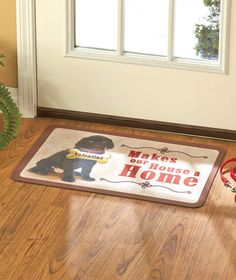 Personalized Dog Breed Doormats