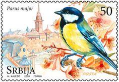 Serbian Postage Stamp ~